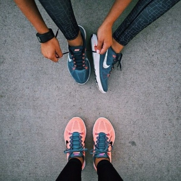 shoes nike girly running shoes lunarglide