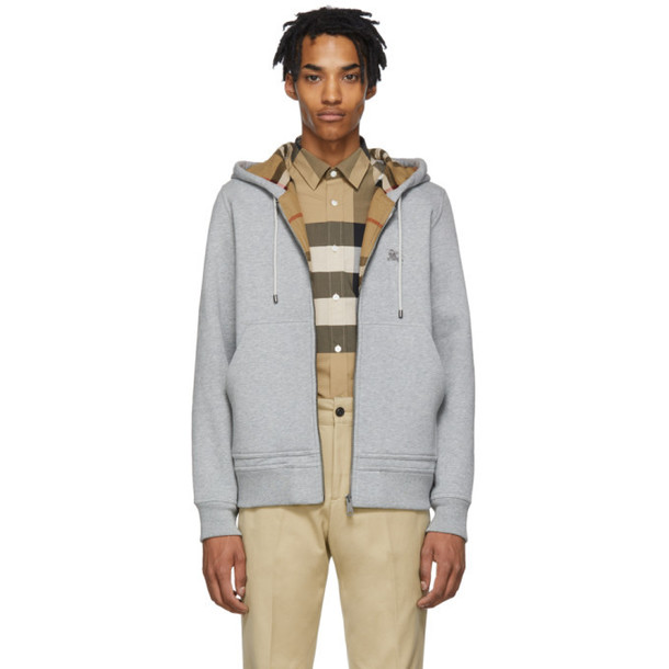 Burberry Grey Fordson Hoodie