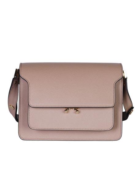 Marni Trunk Shoulder Bag in brown