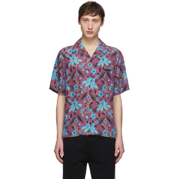 Prada Multicolor Cherry Floral Shirt