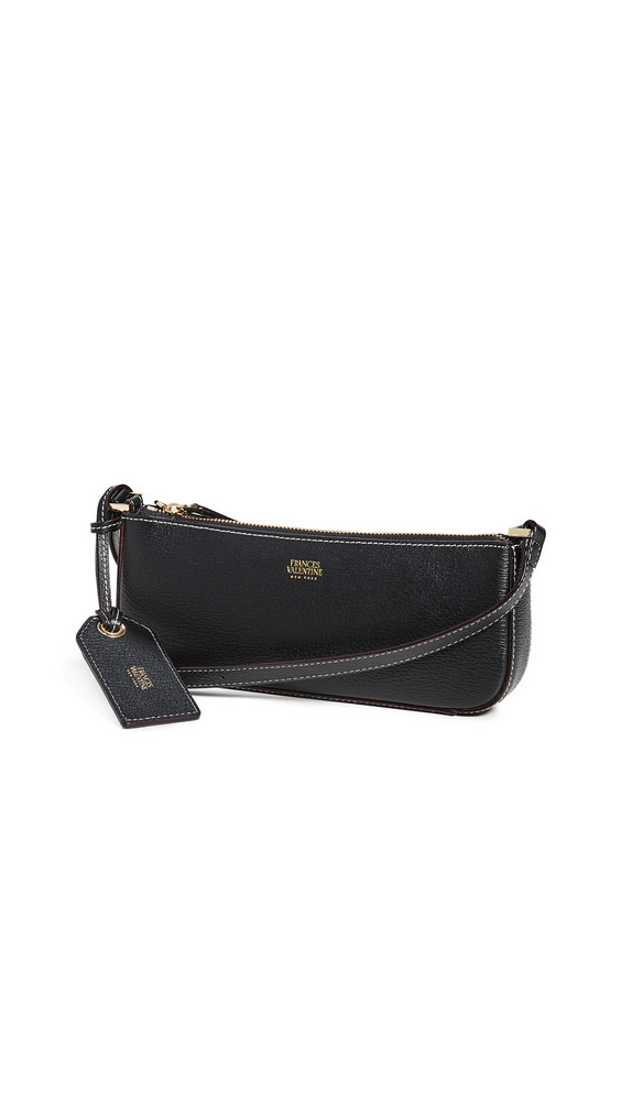 Frances Valentine Pip Small Convertible Shoulder Bag in black