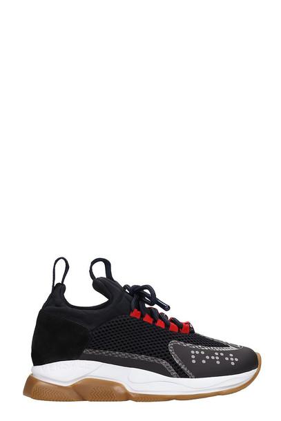 Versace Chain Reaction Sneakers in black