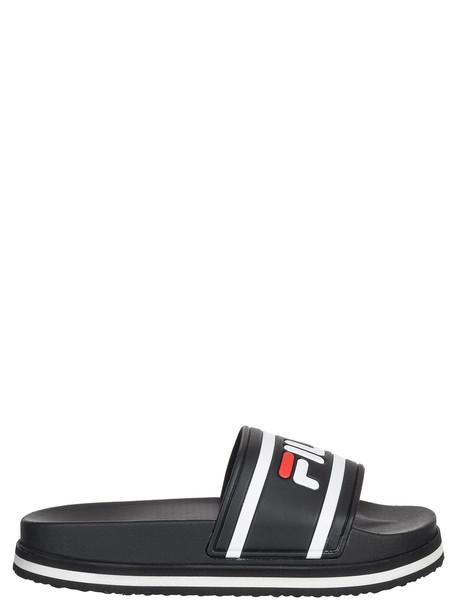 Fila Morro Bay Toe Post Sandals in black