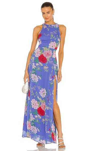 Yumi Kim Dream Maxi Dress in Blue in azure