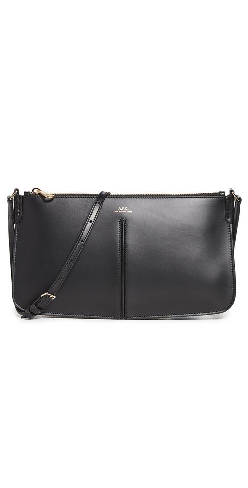 A.P.C. A.P.C. Sac Betty Baguette Bag in black