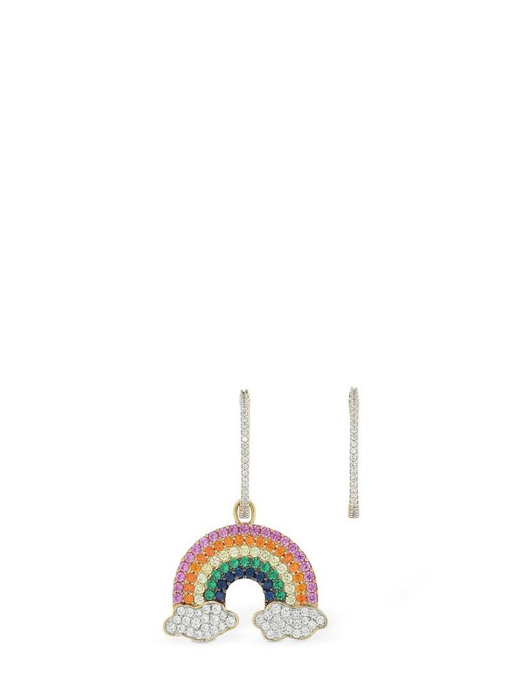 APM MONACO Asymmetric Arc-en-ciel Earrings