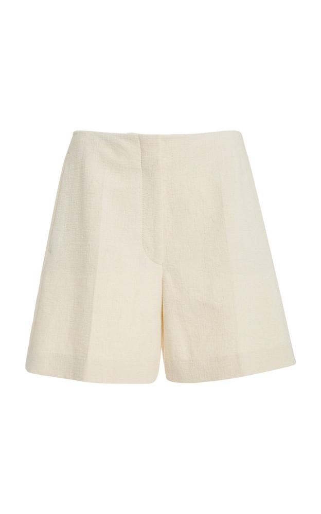 Joseph Tallin Cotton-Canvas Shorts in white