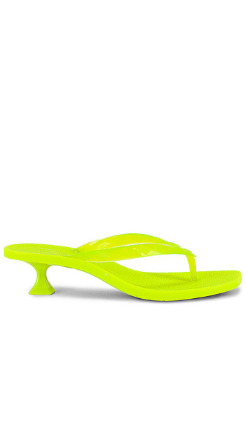 Sigerson Morrison Jewel Sandal in Green