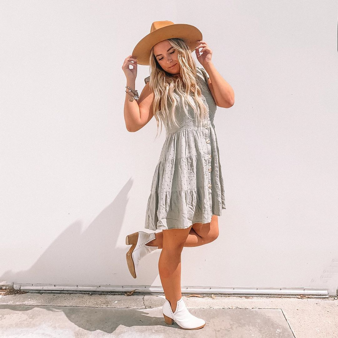 shoes white boots ankle boots boots dress mini dress hat