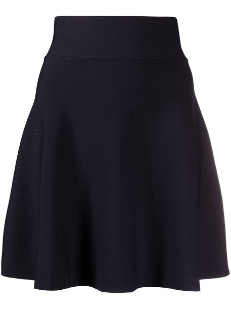 P.A.R.O.S.H. round-neck dress in blue