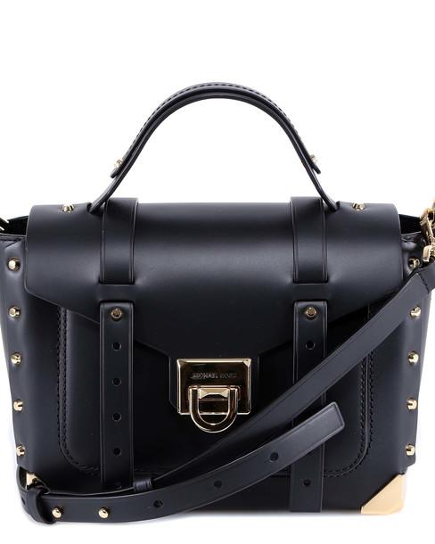 Michael Kors Manhattan Shoulder Bag in black