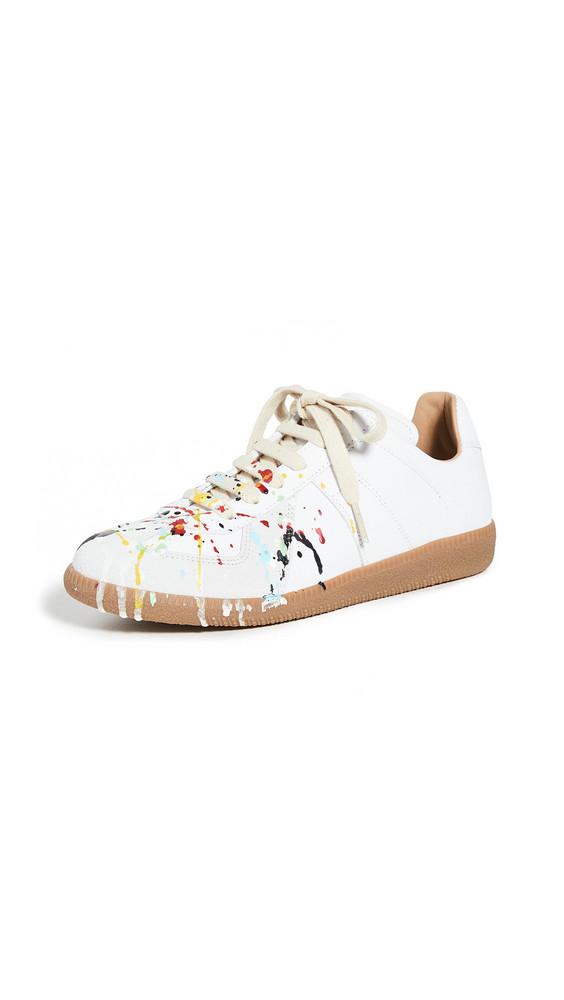 Maison Margiela Replica Sneakers in white