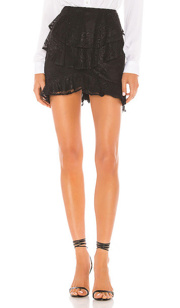 House of Harlow 1960 X REVOLVE Prisha Skirt in Black