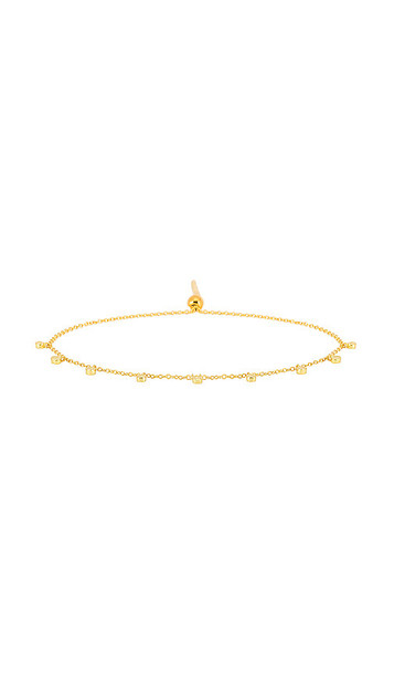 gorjana Chloe Mini Bracelet in Metallic Gold