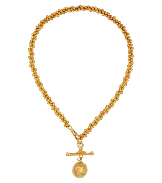 Alighieri L'Aura Chapter I 24kt gold-plated choker necklace