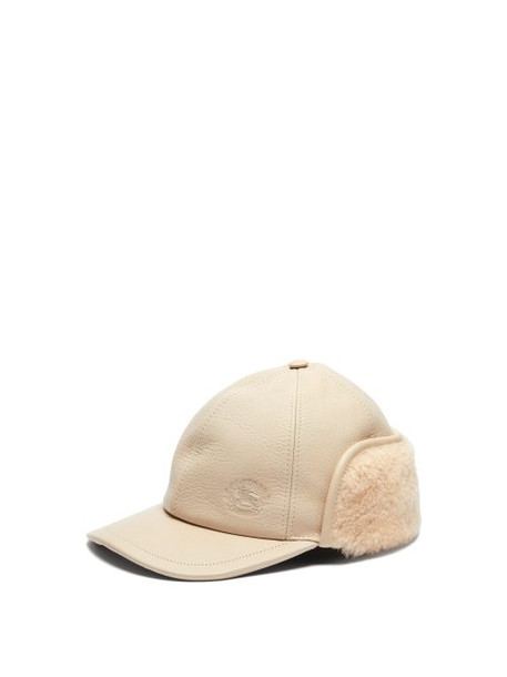 hat leather cream