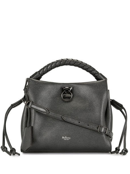 Mulberry small Iris tote bag in black