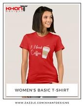 top,ineedcoffee,coffee,t-shirt,fashion,women t shirts,blackshirt,coffeelover