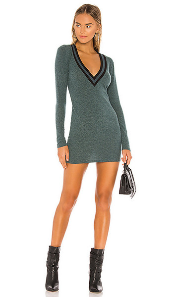 Lovers + Friends Lovers + Friends Penny Sweater Dress in Green