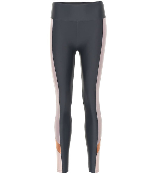 Lanston Sport Simon high-rise leggings in grey