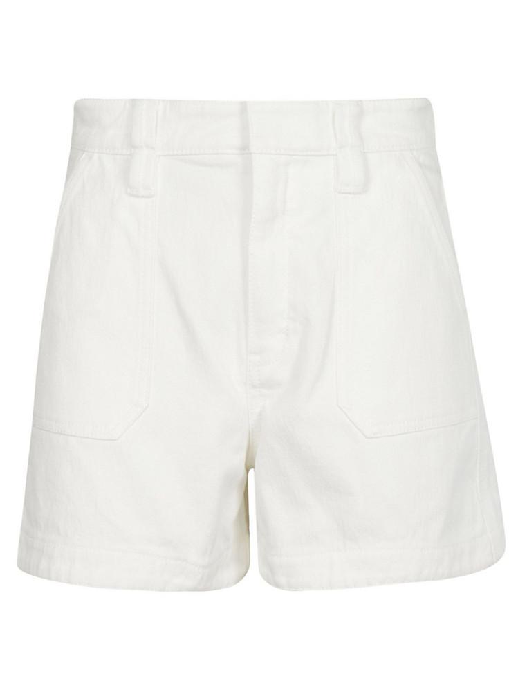 Chloé Chloé High Waist Shorts in white