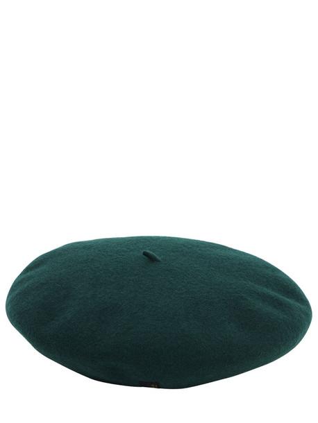 BORSALINO Wool Basco Hat in green
