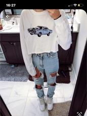 shirt,vintage car shirt