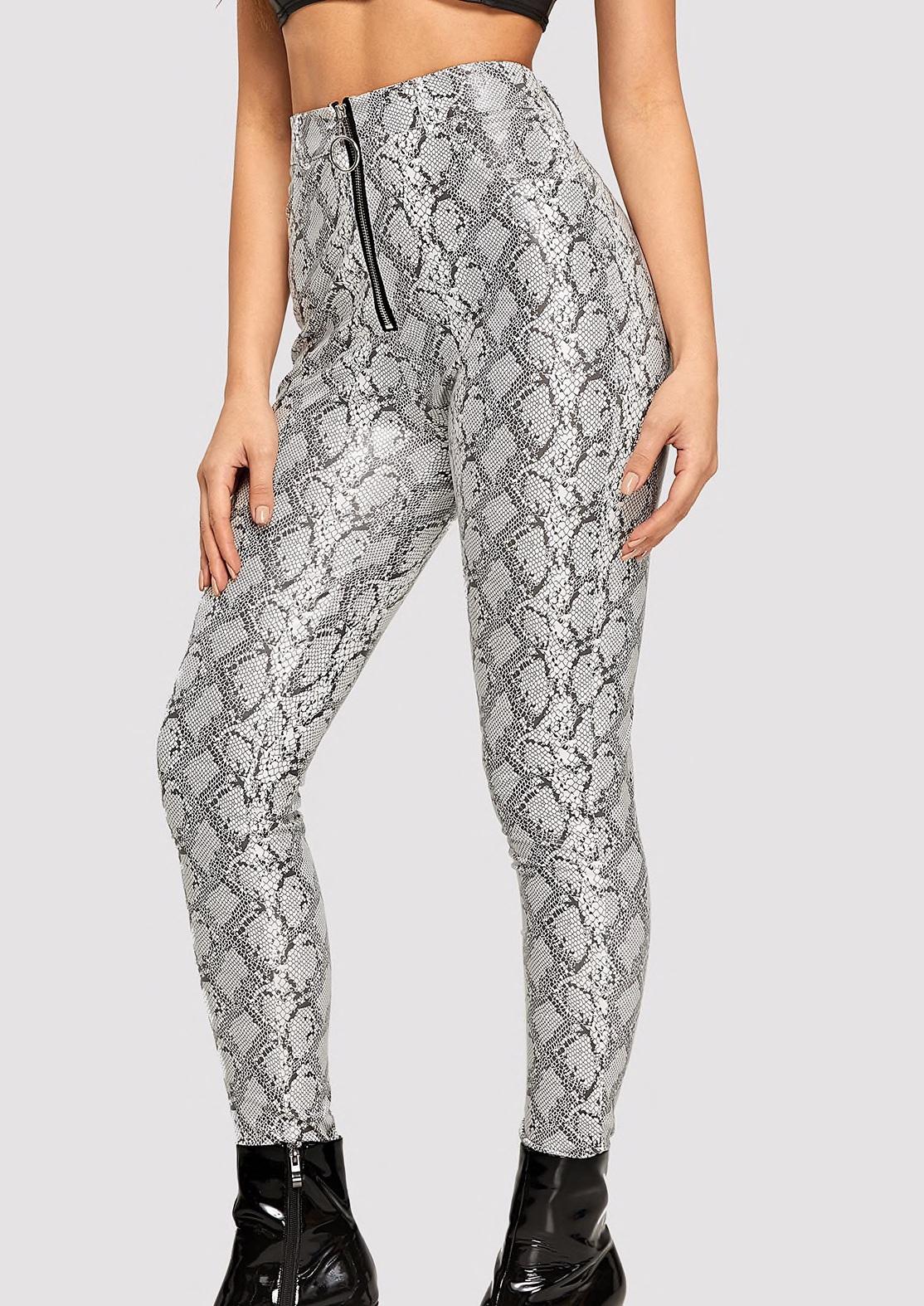 pants girly girl girly wishlist trendy snake snake print snake print pants snake skin zip zipped pants zip-up