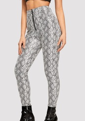 pants,girly,girl,girly wishlist,trendy,snake,snake print,snake print pants,snake skin,zip,zipped pants,zip-up