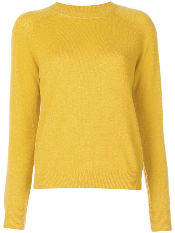 Alexandra Golovanoff Milanet jumper in yellow