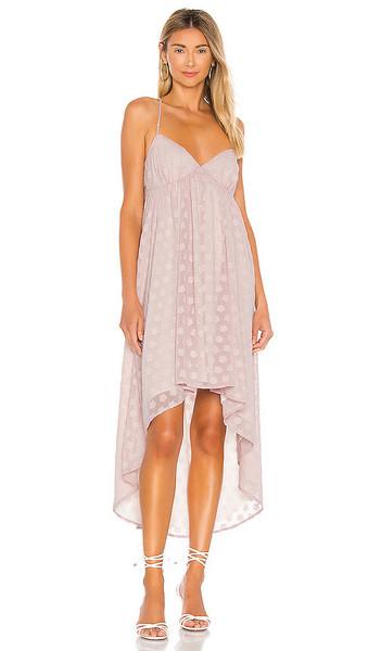 LPA Fiona Dress in Blush in lilac