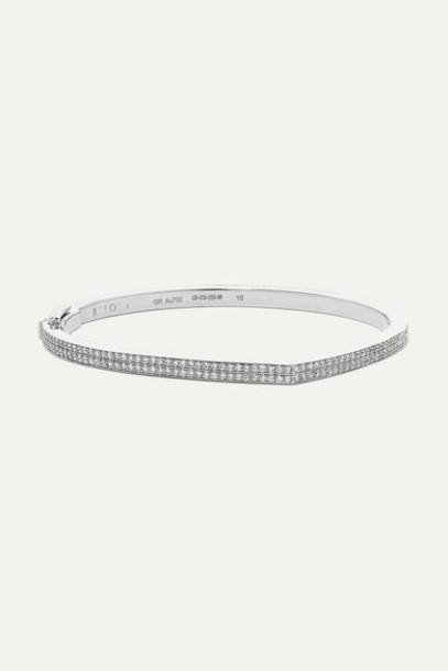 Repossi - Antifer 18-karat White Gold Diamond Bracelet