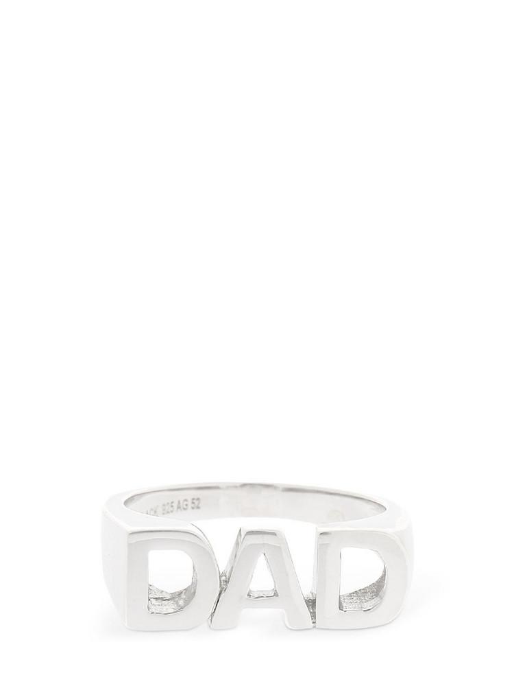 MARIA BLACK Dad Ring in silver