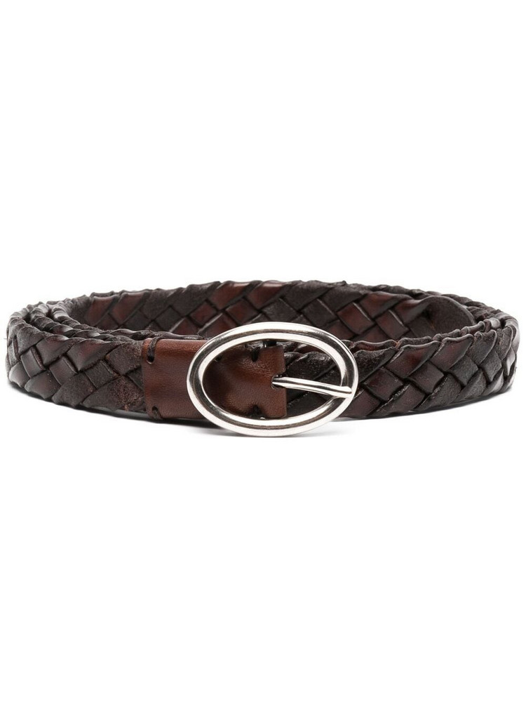 P.A.R.O.S.H. P.A.R.O.S.H. braided strap belt - Brown