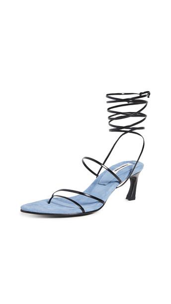 Reike Nen Odd Pair Sandals in black / blue