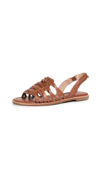 Madewell The Maya Huarache Sandals
