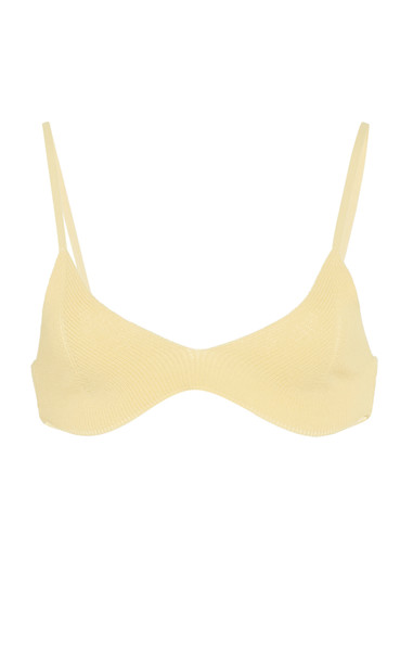 Jacquemus Le Bandeau Valensole Swim Top Size: S in yellow