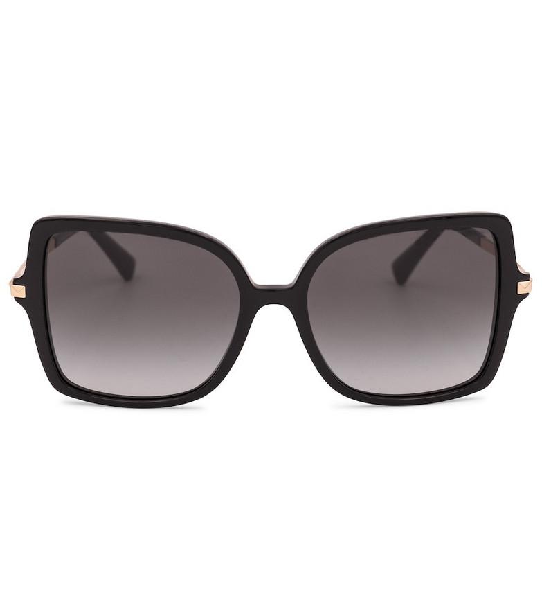 Valentino embellished acetate sunglasses in black