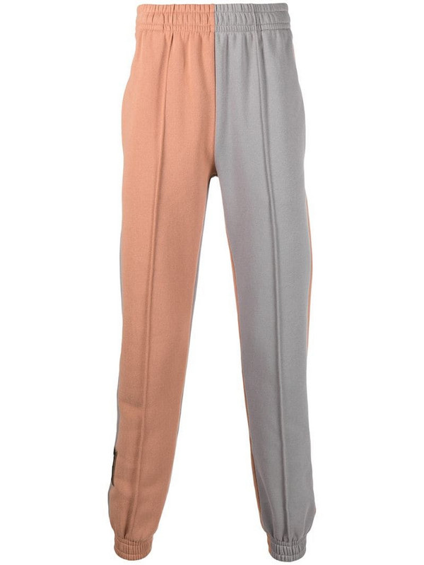 Styland two-tone track pant in neutrals
