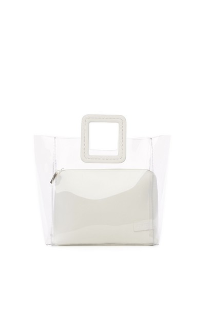 Staud Shirley Bag | Clear White