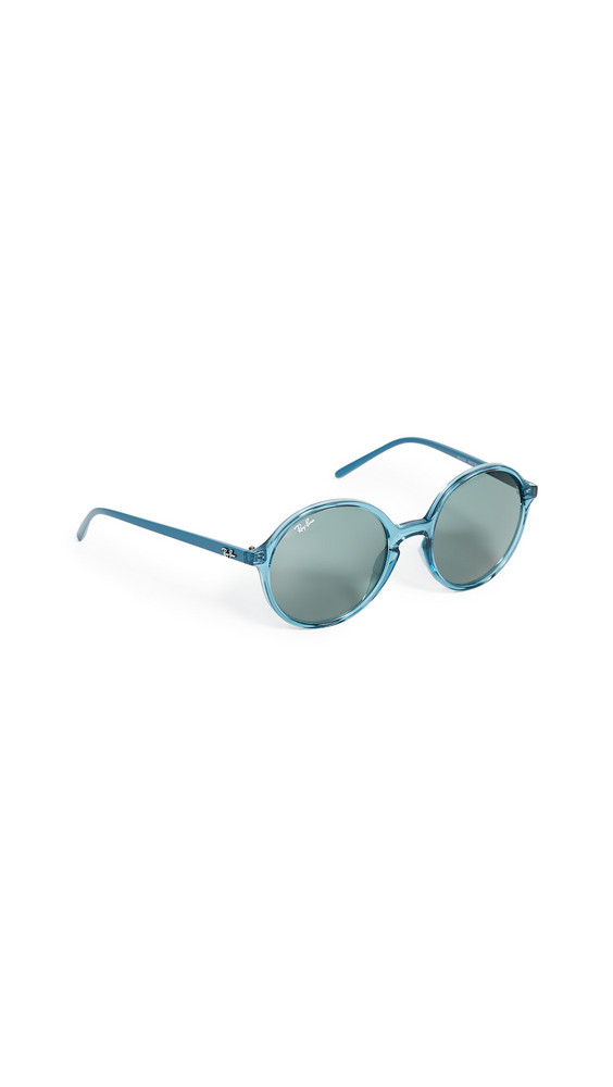 Ray-Ban Youngster Round Sunglasses in petrol / green