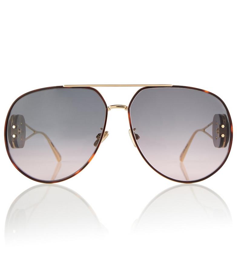 DIOR Eyewear DiorBobby A1U aviator sunglasses in brown