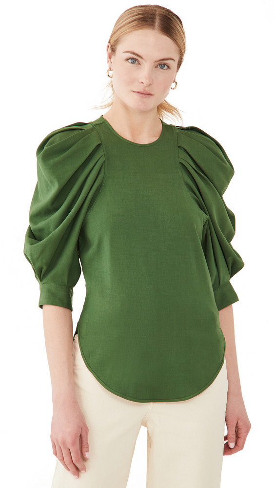 Isabel Marant Surya Blouse in green