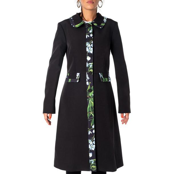 Blumarine Coat in black