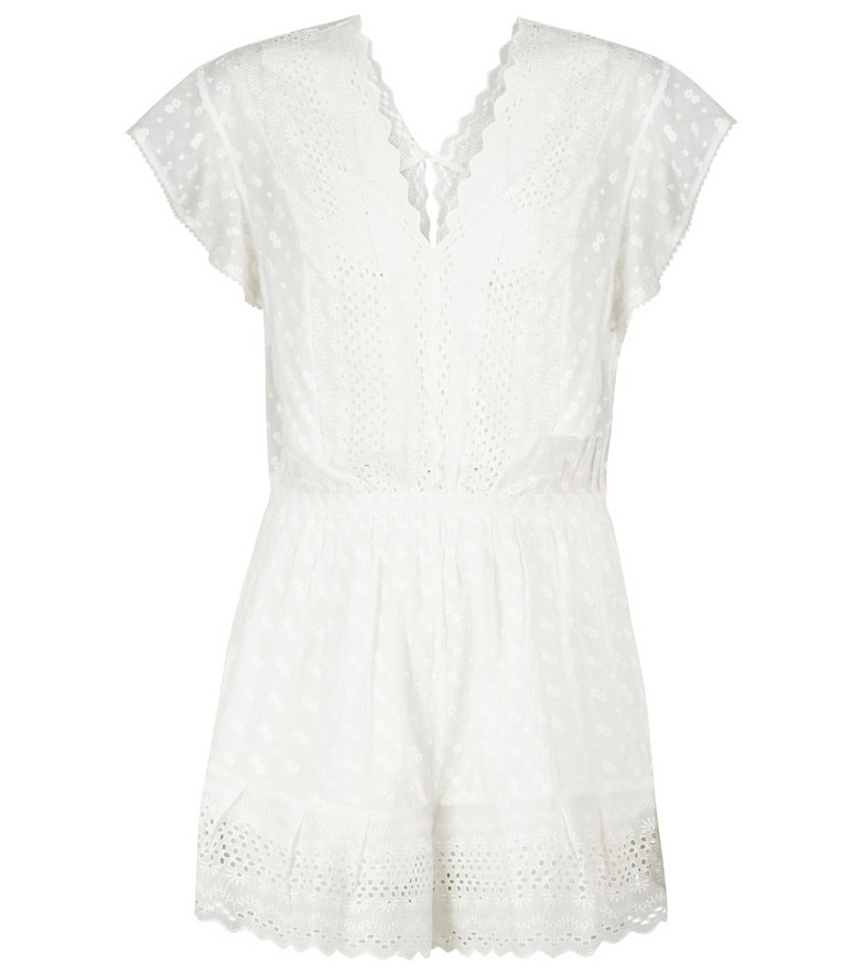 Isabel Marant, Étoile Tadeo cotton playsuit in white