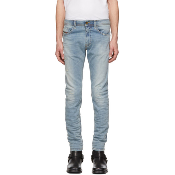 93433c18a18ae5 Diesel Blue Thommer 087AX Jeans - Wheretoget