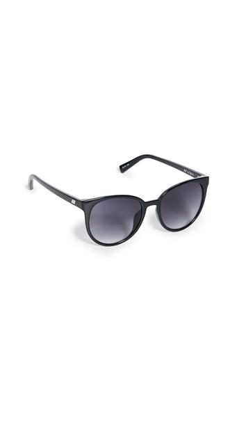 Le Specs Armada Sunglasses in black