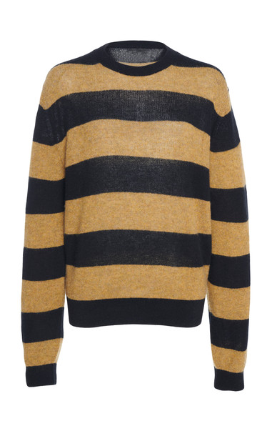Khaite Viola Striped Wool Sweater Size: S
