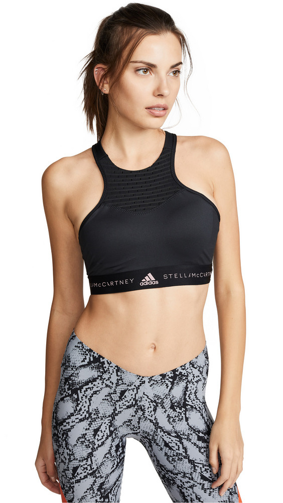 adidas by Stella McCartney Hiit Bra in black