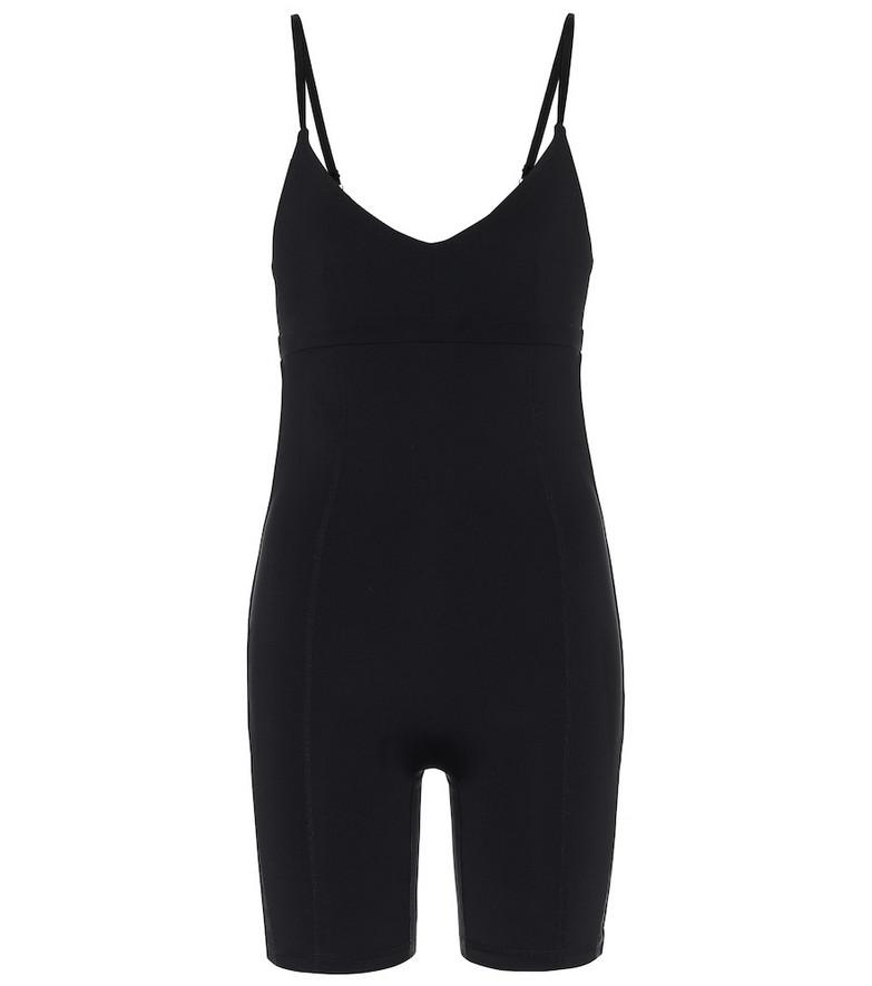 The Upside Velvet technical jumpsuit in black